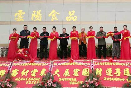 【签约】深圳市云阳食品有限公司网站建设