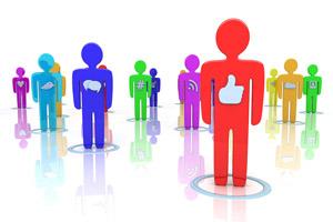 中国社交应用用户规模前三名:腾讯、微博、陌陌
