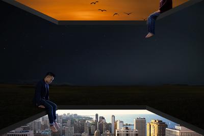 【网站设计】如何利用前景表现空间感?